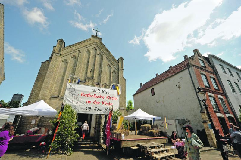 Pfarreifest in St. Knud in Husum